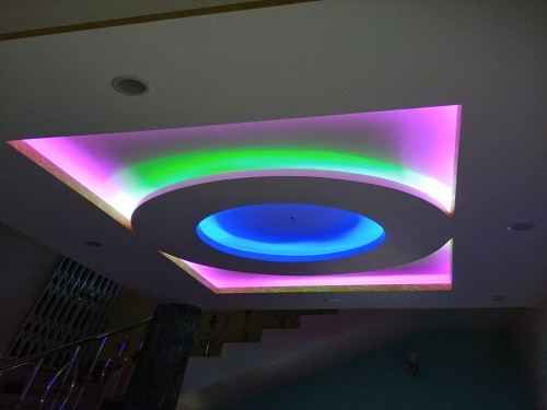 Image-False Ceiling Adore with Lights